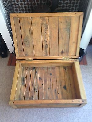 Vintage Pine Chest/crate 3