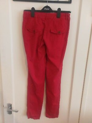 Girls Red Trousers Age13 New Look #U 3