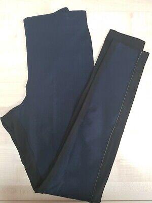 Pantacollant Leggings Leggins Contenitivo Modellante Nero Blu HUE  Misure S-M-L 3