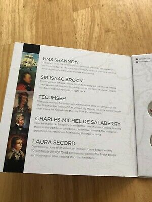 Canada War Of 1812 Coins Set  In Royal Canadian Mint Album 7