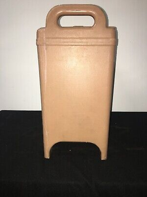Cambro Tan Insulated Soup/Beverage Carrier 350LCD 3.3/8 Gallon Capacity. #1L 7