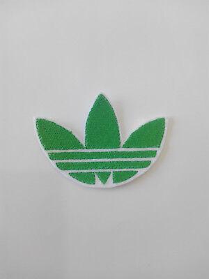 Parche bordado para  pegar , termoadhesivo estilo Adidas 7,5/5,5 cm adorno ropa 6