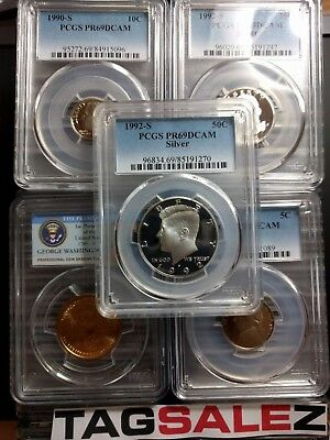 ✯ ESTATE SALE! ✯ PCGS Slabbed GRADED U.S. Proof Coin Hoard ✯ 1 SLAB LOT + BONUS 4