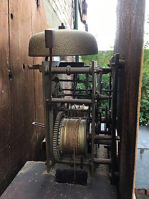 pine grandfather clock reduced£495 12