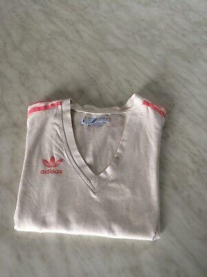 tee shirt  blanc manches longues ADIDAS  taille 34 bon état 5