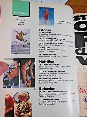 Men's Fitness January 1992- Physique Magazine- 2