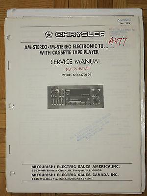VARIOUS CAR AUDIO Decks/Receivers/Amplifiers/Equalizers Service Manuals