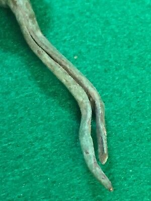 Ancient Roman Artifacts, Bronze  Nail, Excellent Patina, Very Heavy 4