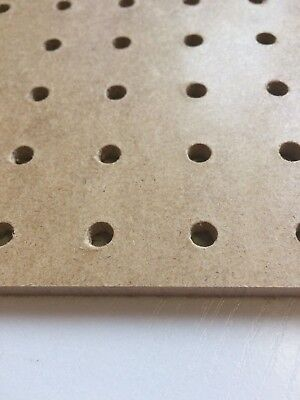 6mm wooden Pegboard 1200MM X 600MM,6mm hole with 25mm Hole centres hardboard 2