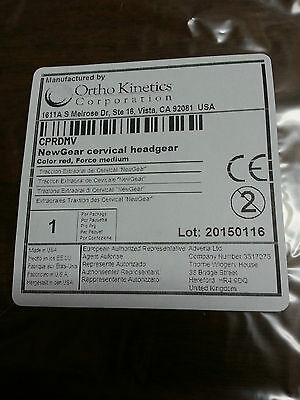 NEW! Ortho Kinetics NewGear orthodontic cervical headgear assortment  (5) Unisex