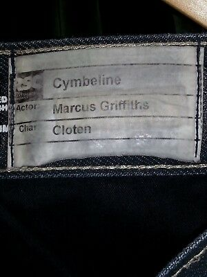 "Cloten's Jeans - CYMBELINE, RSC 2016, worn by Marcus Griffiths. W:36"" L:34"""
