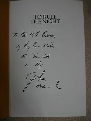 To Rule the Night signed by Author and Jim Irwin - 1973 2