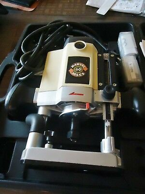 "New Mlcs 60 Marvel 1/4""-1/2"" Variable Speed Router W/micro Adjustable Plunge"
