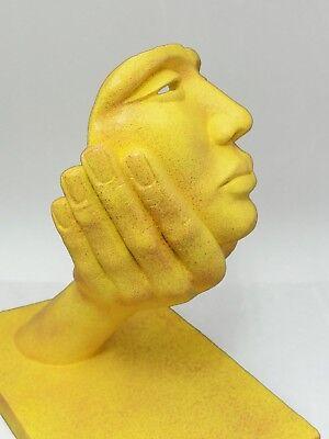 Escultura de piedra sintética acabado granito. Venta directa del artista. 2