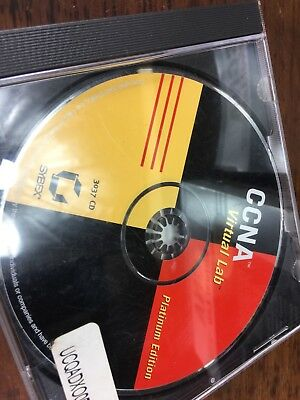 Ccna Virtual Lab Platinum Edition (640-801) Lab Simiulation Software Cisco Ed 3