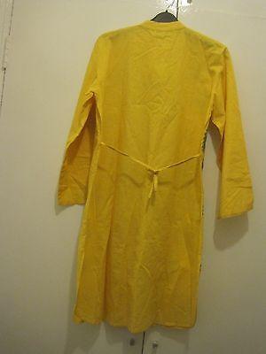 embroided yellow kaftan size large 3