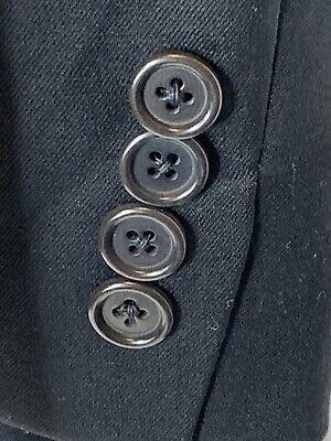 Hugo Boss Mens Size 40R Einstein Pure Wool Blazer Black Made In USA 7