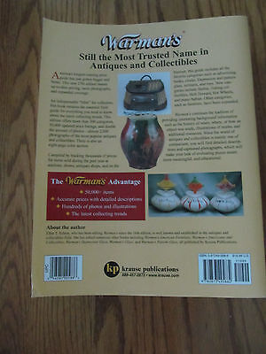 Antiques Price Guide Book Warman's Antiques & Collectibles 37th Ed. Paperback