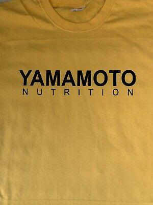 "T-Shirt Bodybuilding Fitness Palestra ""Yamamoto Nutrition"" 5"
