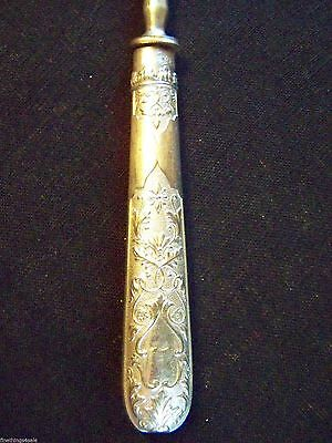 Large Sheffield Victorian Style Silver Hard Stilton Cheese Serving Scoop Piece 4