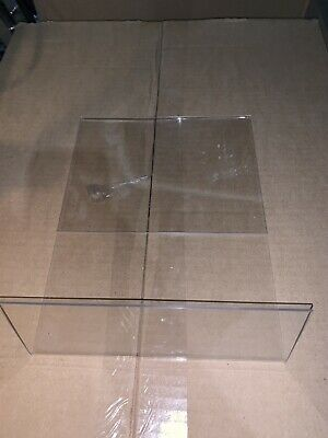 8.5 x 11 Slanted Acrylic Sign Holder Display 5 pack 2