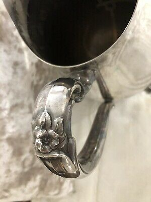 Water Pitcher Silverplated ~ Vintage!Stamped Wm Rogers!  Gorgeous!! 4