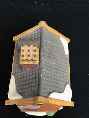 Dept 56 Dickens Village Series Geo Weeton Watchmaker Porcelain Collectible 5