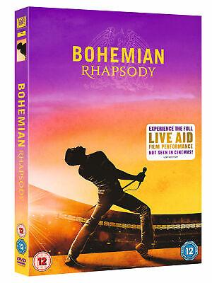 Bohemian Rhapsody [2018] Queen (DVD) Rami Malek, Lucy Boynton, Gwilym Lee 2