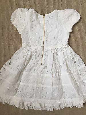 White Designer Summer Dress 6years 4