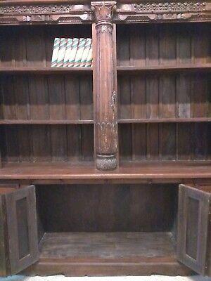 Libreria Etnica Legno.Libreria Etnica In Legno Massello Mobili Etnici Librerie India