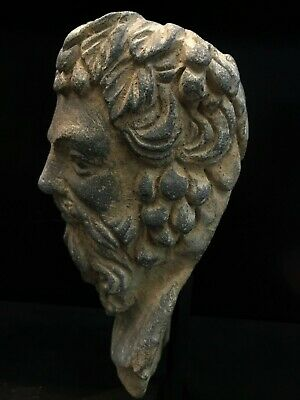 Lovely Authentic 3-4th Century A.D. Gandhara 犍陀罗 Vajrapani greek Head 9