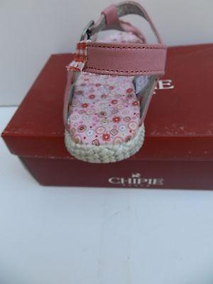 Chipie Mitoune Sandales Fille 32 Chaussures Sabots Nu-pieds Fleurs Azalee Neuf 7