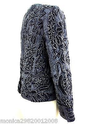 5 sur 12 Bleu pour Femmes Veste Blazer Embroiedred Zara TAILLE S Ref 5770  241 158e0e388718