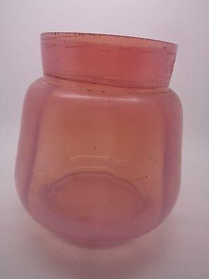 Vintage Pink Loetz Krakik Flower Vase Irredescent Pink Art Glass