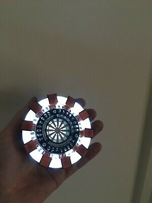 Arc Reactor ULTRA-Bright Wearable Prop for Iron Man Cosplay 3