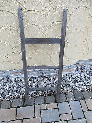 alte Holzleiter(50) Deco Blumenampel Baumleiter Handtuchhalter Kleiderhalter 3