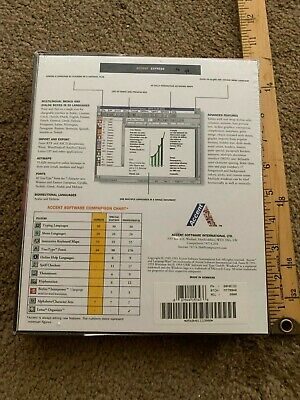 ACCENT  Multilingual WP for Windows 95 > WORD PROCESSING Express new 3