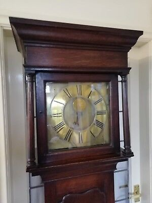 Single Finger Grandfather Longcase Clock Joseph Donisthorpe Circa 1770 8