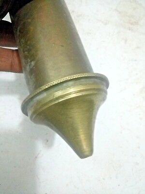Old  VINTAGE Pump Antique Brass Water Pesticide Sprayer Wood Handle