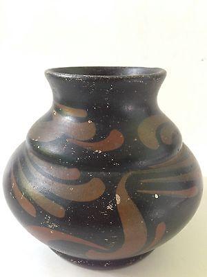 antique GOUDA CORA signed marked vase