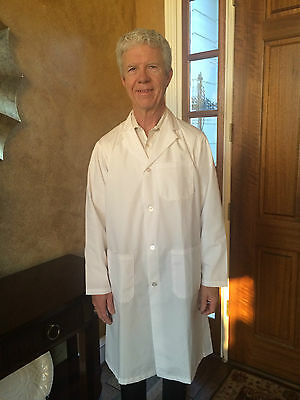 Men's 1st Quality River's End Lab Coats Cotton Blend for 11.50 Sizes Lg-3XL