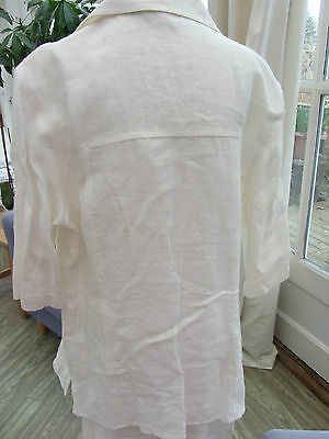Italian Linen suit Varci age 15years RRP £75 7