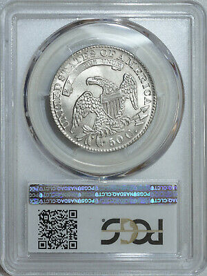 1832 PCGS MS63+ Bust Half, brilliant luster, strong detail & great eye appeal 4