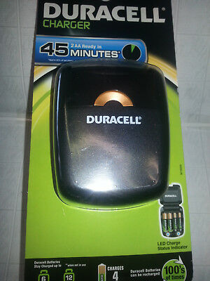 Duracell 45 Min CEF27 AKKU Charger Ladegerät für NI-MH  2/4x AA/AAA zuklappbar#2 2
