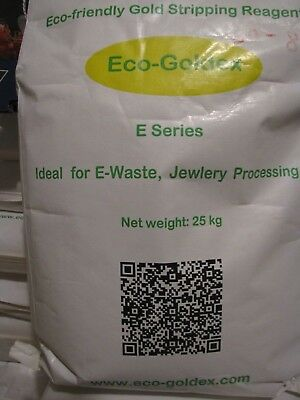 Eco-Goldex E series Agent for Precious Metal Stripping and Recovery 8