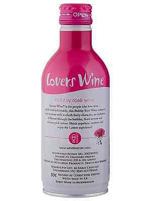 Lovers Wine Bubbly Rosé Wine 300mL case of 12 Rosé Sparkling Rosé 2