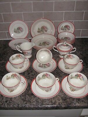 Crooksville China Pottery  Made In USA 8