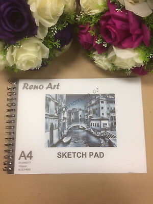 A4 Sketch Pad 140gsm Atrist Painting Art Paper Sketchbook  Drawing Craft Pastel 2