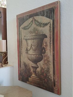 Ancient Greek and Roman Vase panel painting 2