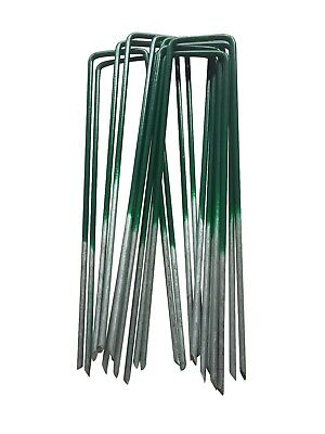 Metal Ground Garden Membrane Pins Fabric Hooks Pegs Staples U Pins 7